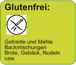 Glutenfrei: