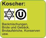 Koscher: