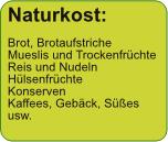 Naturkost: